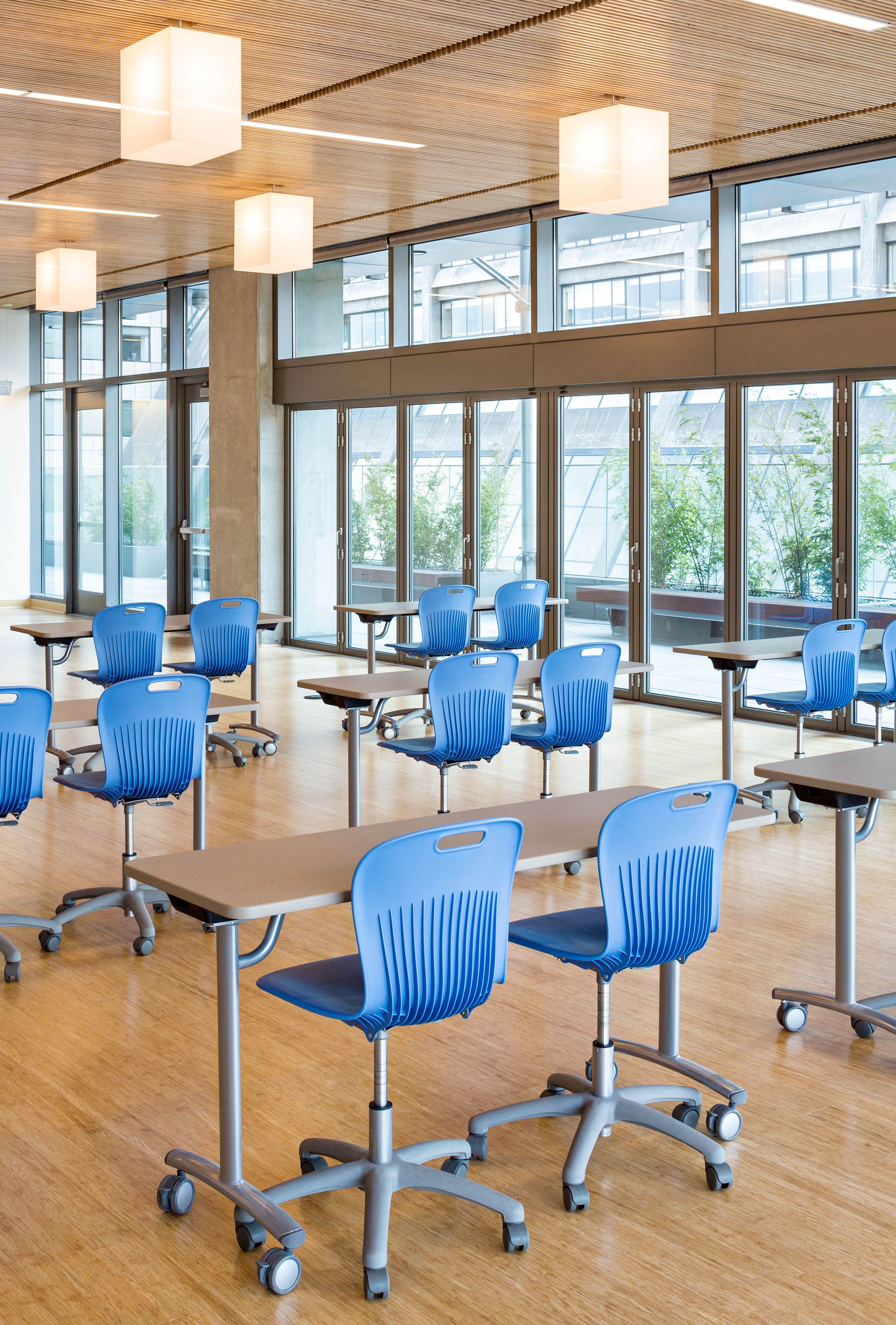 Virco S Text Tilt Top Tables Deliver Space Saving Solutions And