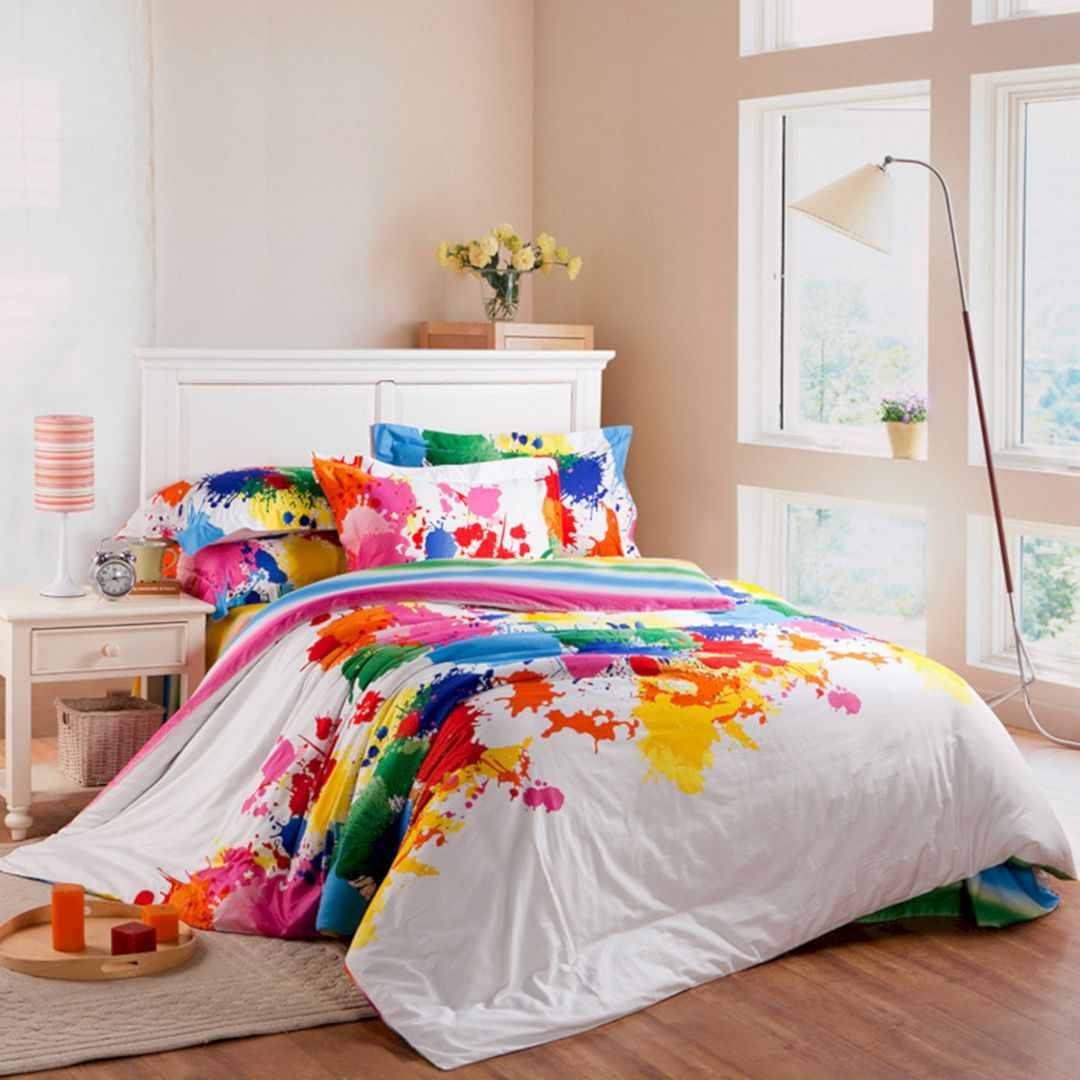 Lovely 5+ Colorful Bedding Sets Ideas for Cozy Sleep