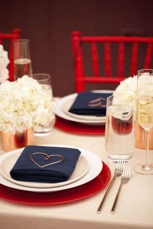 Red White And Blue Wedding Ideas Blue Wedding Decorations Blue