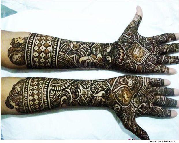 Bridal Mehndi Gta : Indian mehndi designs for hands bridal