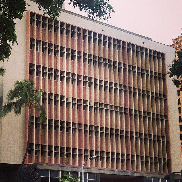 bbgunnisagenius:  #hawaiian #60s #architecture