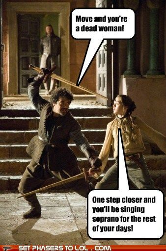 Talk about a lose-lose situation! (Game of Thrones)