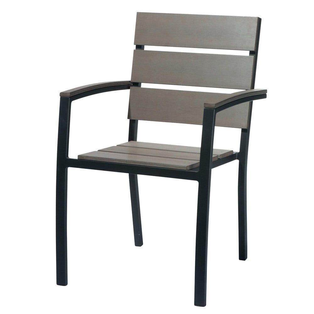 Fauteuil de jardin en aluminium gris anthracite in 2019 | Products ...