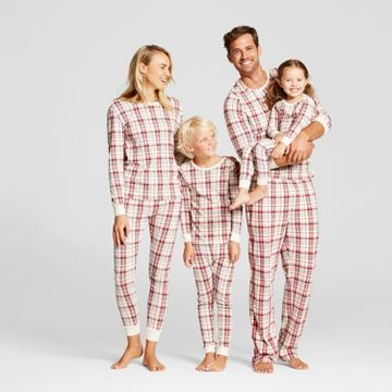 Burt's Bee Organic Cotton Plaid Family Pajamas Collection