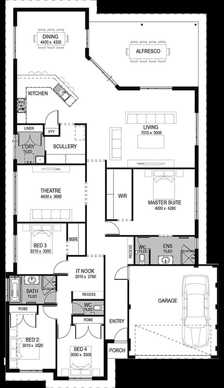 Floorplan Home Design Floor Plans Best House Plans Dream House Plans