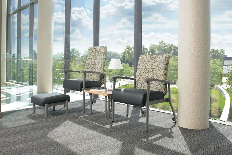 Medical Office Waiting Room Furniture the series includes individual chairs for patient rooms
