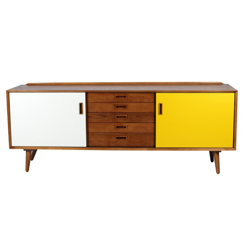 Skandi 5 Drawers Buffet
