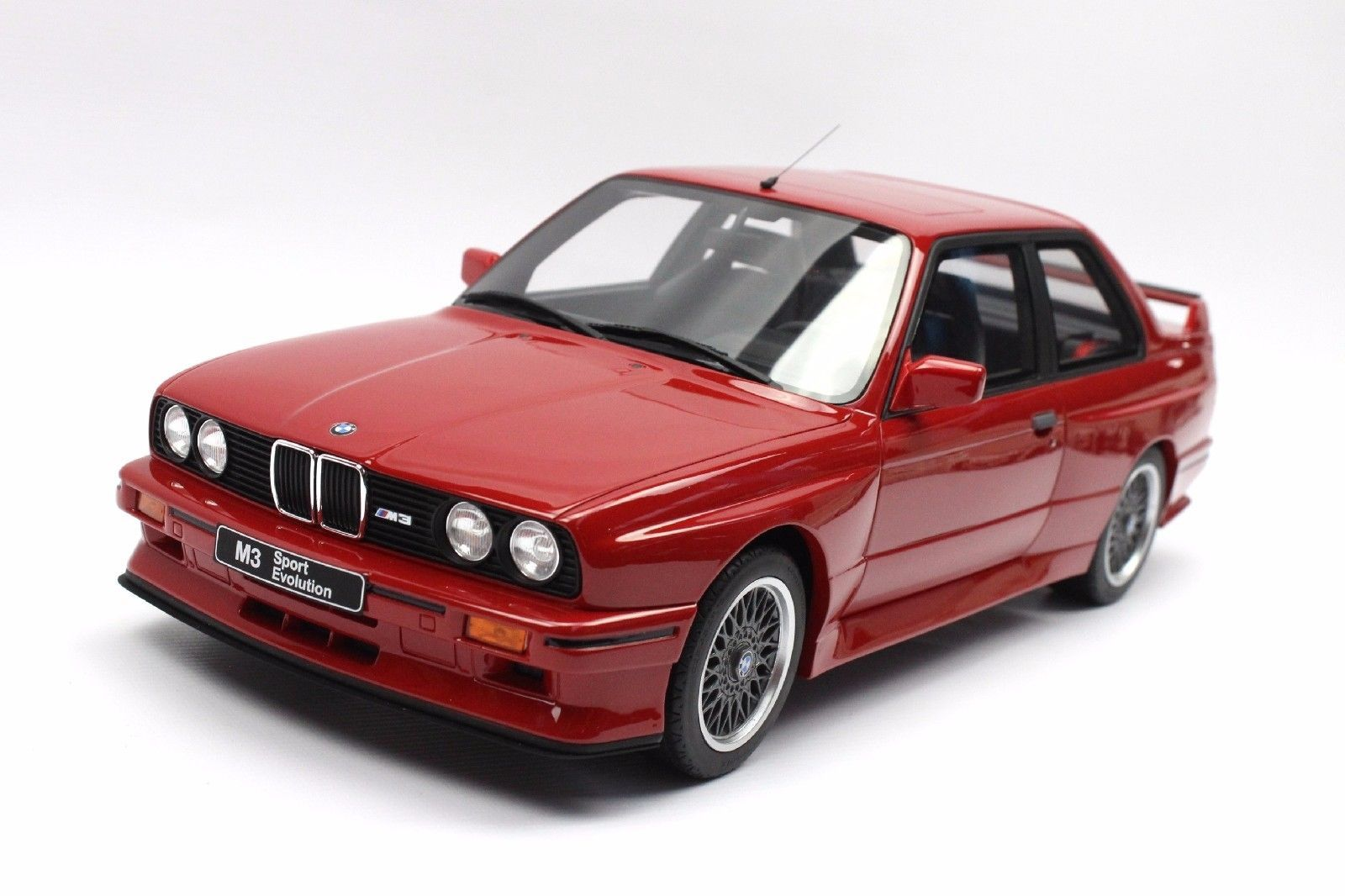 1 12 Otto G033 Bmw E30 M3 Sport Evolution Brilliant Red Con