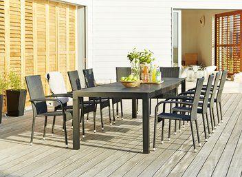 074dbbfee1ea Table SKAGEN 100x245/314cm alu/artwood | JYSK | Garden | Patio ...