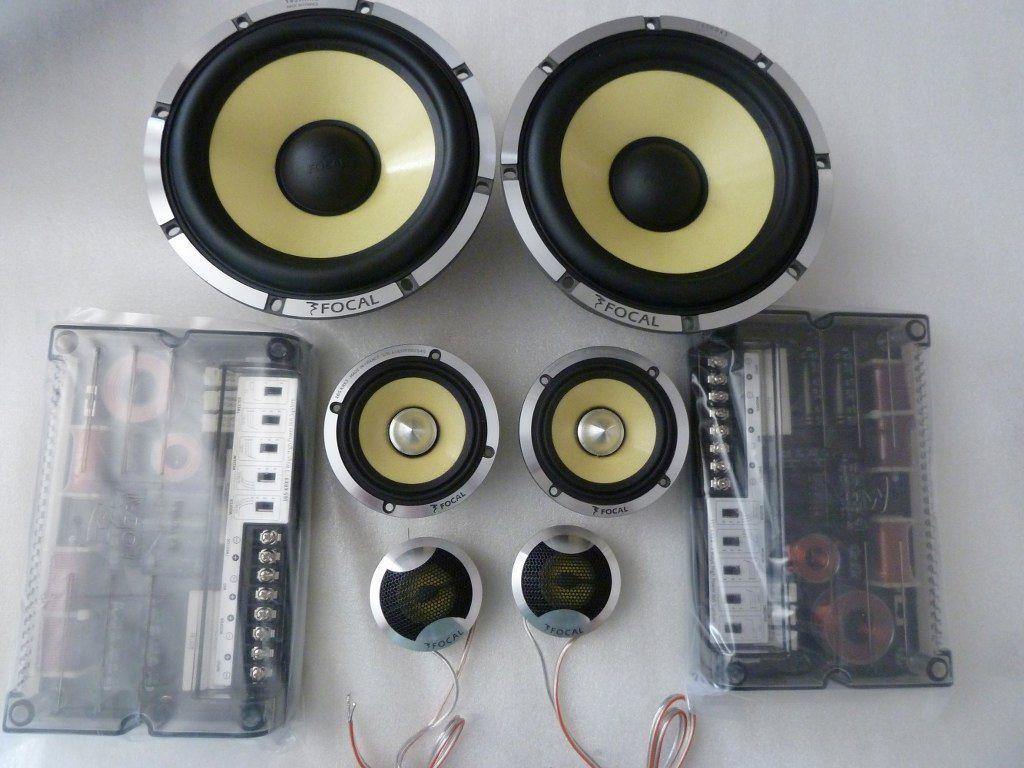 3-Way Component Speakers Car Audio | KIT FOCAL 165KRX3 K2 POWER 165MM 6.5