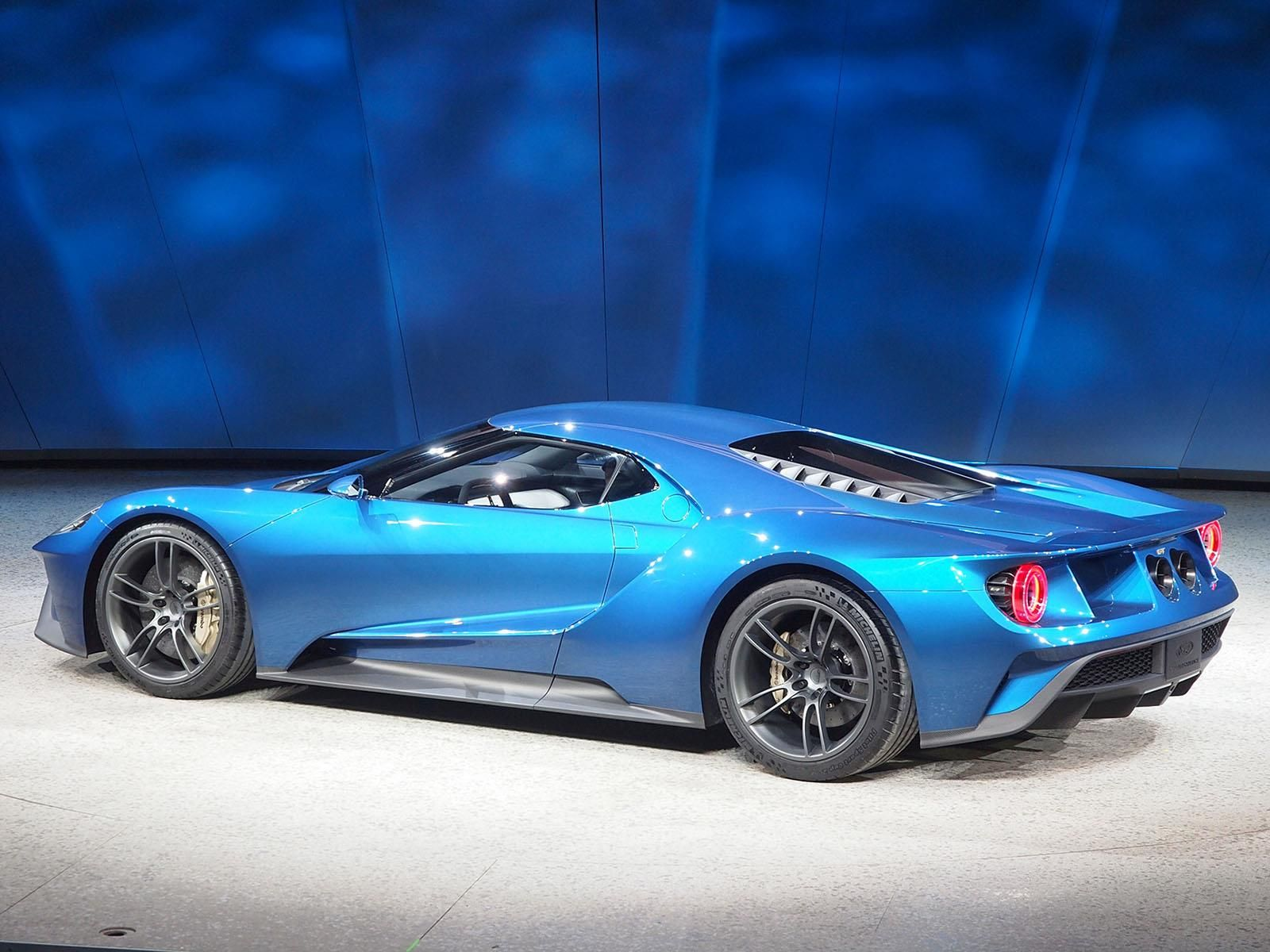 The new Ford GT will cost £250 000