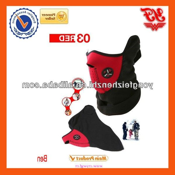 Dust mask 2012 Neck Warmer red warming FaceMask