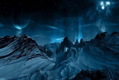 夜の雪山の壁紙 壁紙キングダム pc デスクトップ版 pc用壁紙まとめ