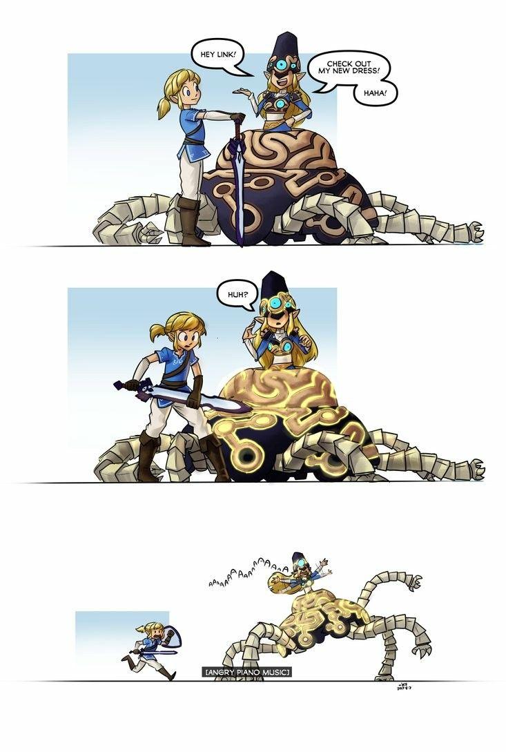 Angry piano music | Zelda | Legend of zelda memes, Legend ...