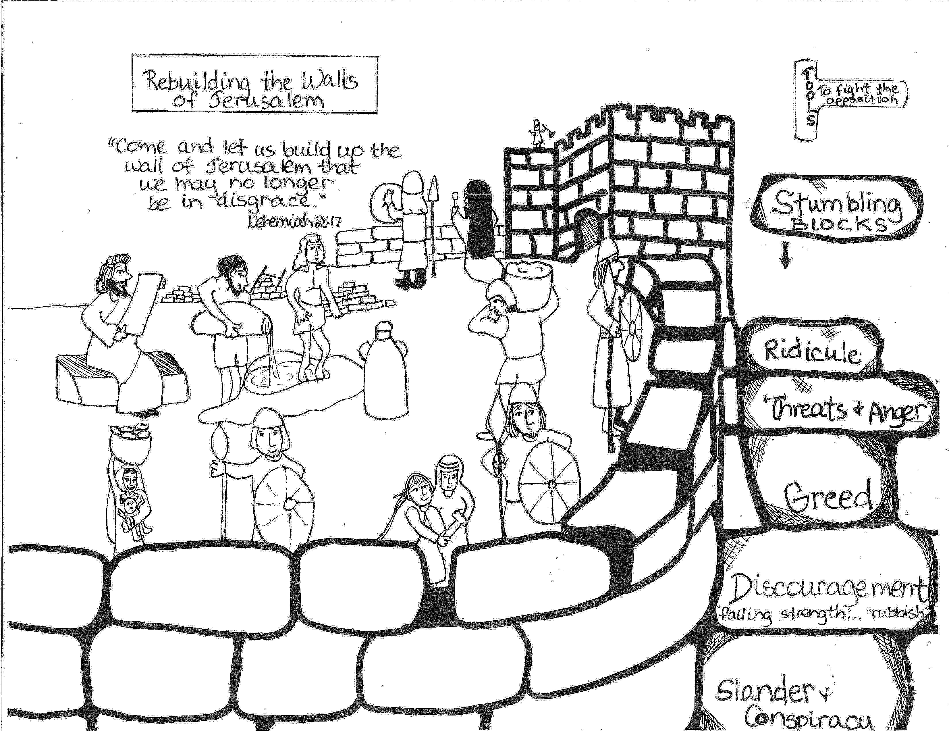 create a crossword puzzle coloring page - xalucolor | Sunday School ...