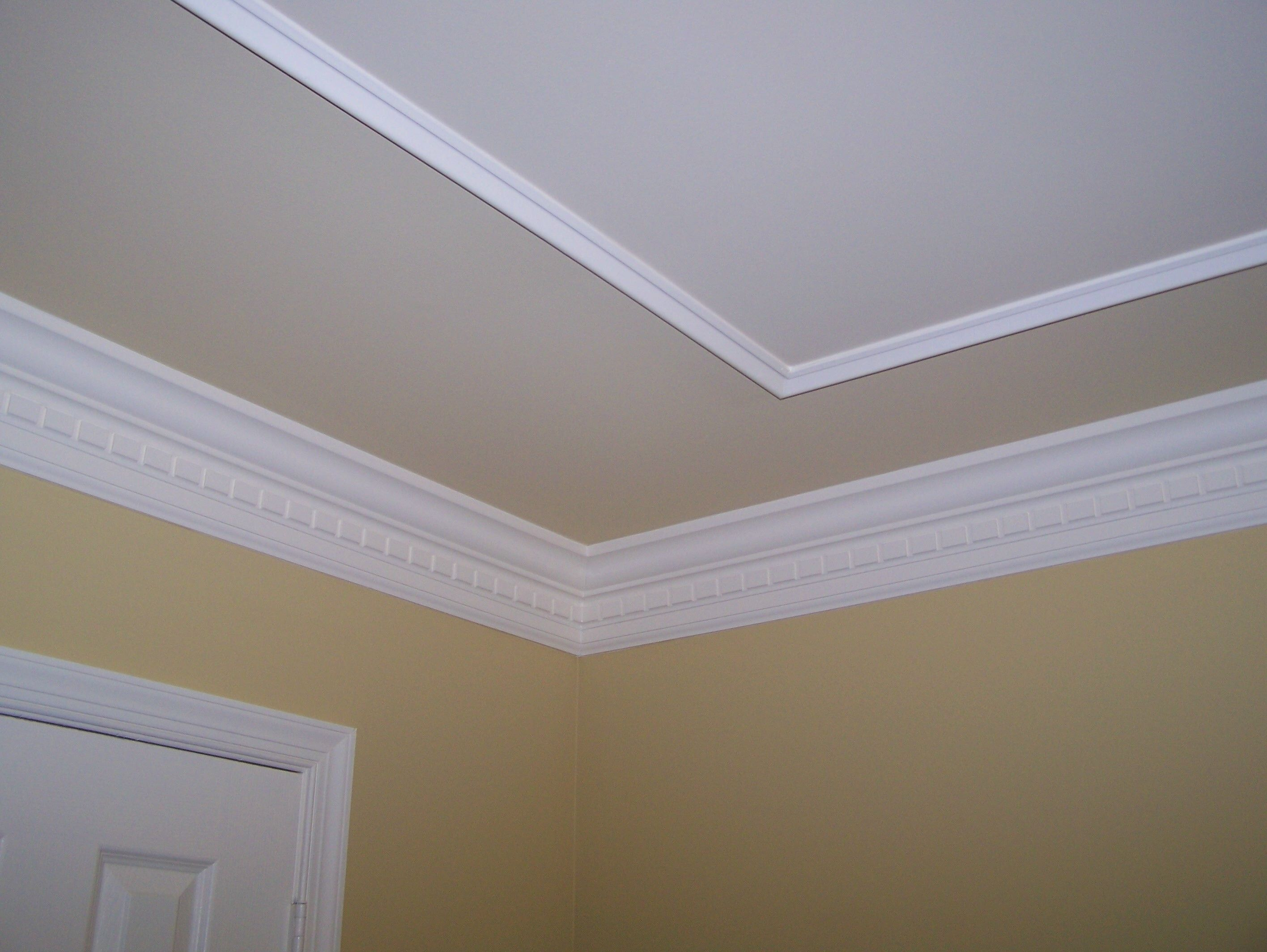 Don 39 t have the height for a tray ceiling but may be able What kind of paint to use on ceiling
