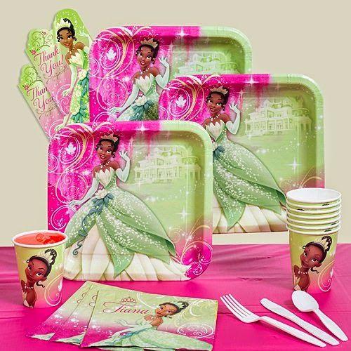 Disneys Princess Tiana Themed Party Supplies And Ideas