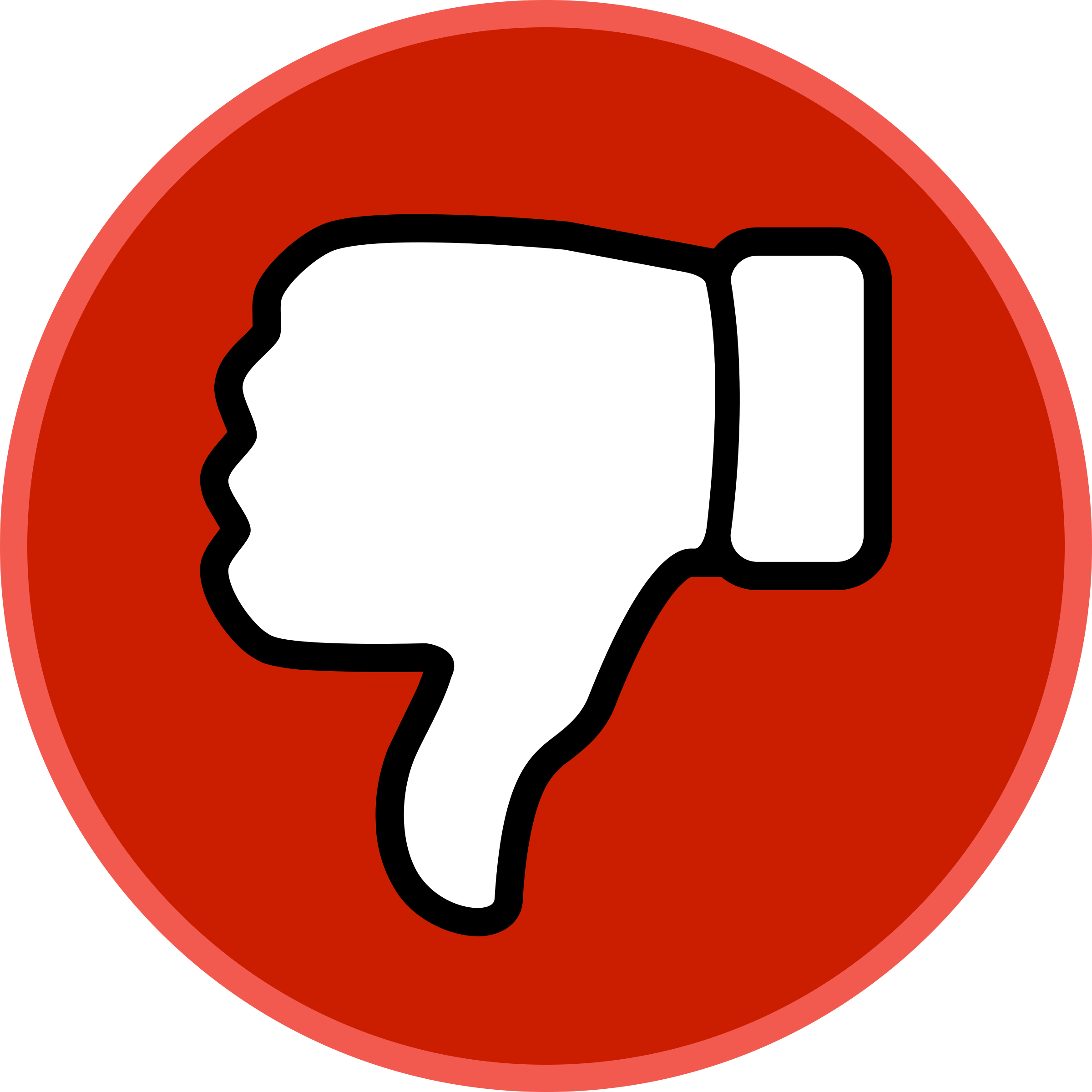 Thumbs Down Circle by j4p4n | Clip art, Emoji, Sticker template