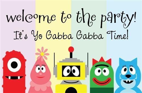 Die besten 17 Bilder zu Yo gabba gabba auf Pinterest   Färben ...