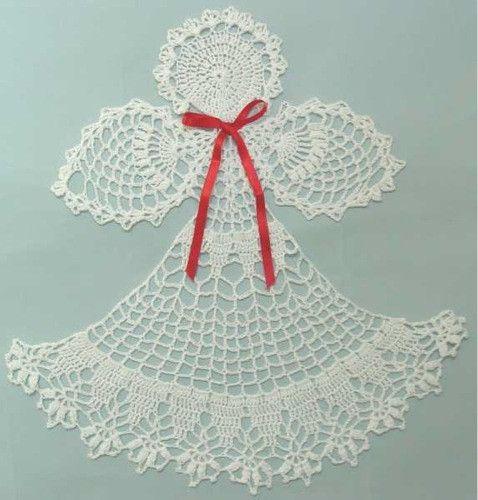 angel abriel doily crochet pattern - Ngel Muster Selber Machen