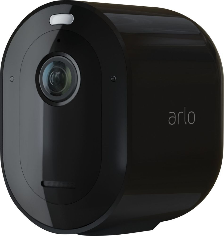 Arlo Pro 3 Indoor Outdoor 2k Hdr Wire Free Security Camera Add On Camera Black Vmc4040b 100nas Best Buy Security Camera Security Camera System Home Security Systems