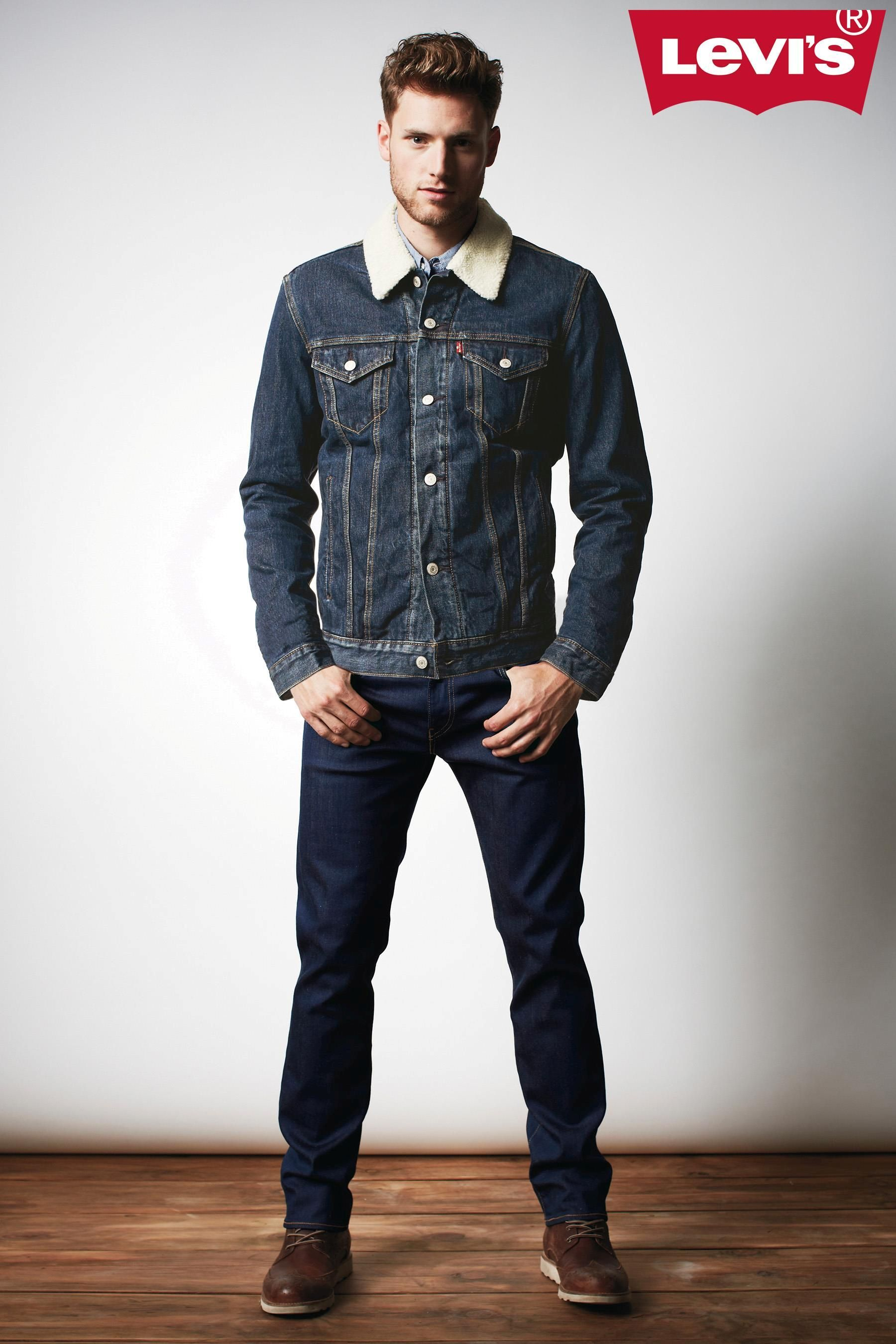 eecec500a38ca Levi s® Sherpa Trucker Denim Jacket  levisbegifted   My Style ...