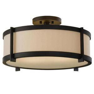 Feiss msf272orb stelle semi flush mount ceiling light oil rubbed feiss msf272orb stelle semi flush mount ceiling light oil rubbed bronze aloadofball