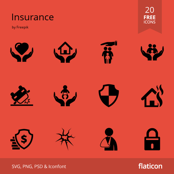 20 Premium Vector Icons Of Insurance Designed By Freepik Free Icons Free Icon Packs Vector Free
