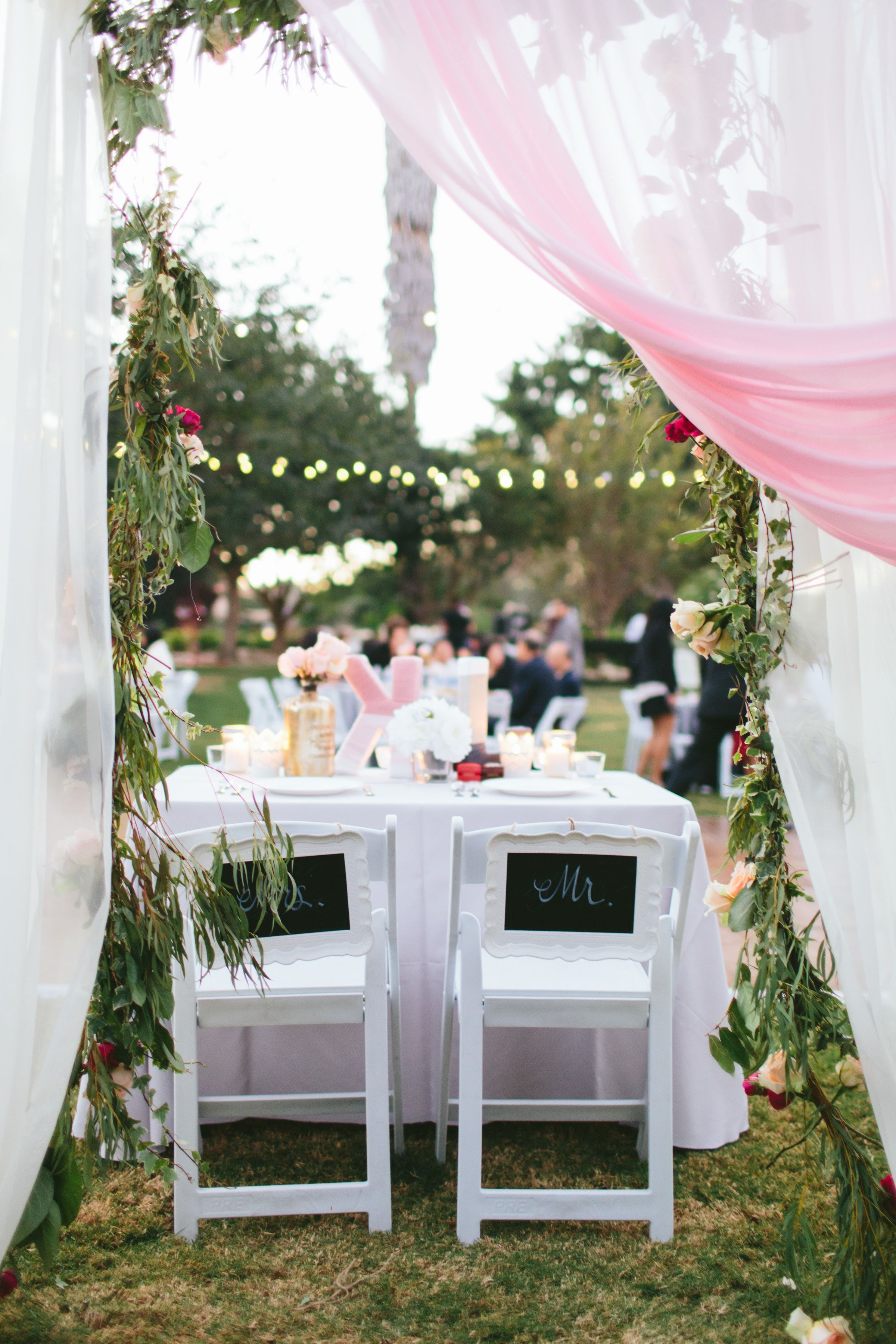 Romantic Fall Wedding at South Coast Botanic Garden Fall