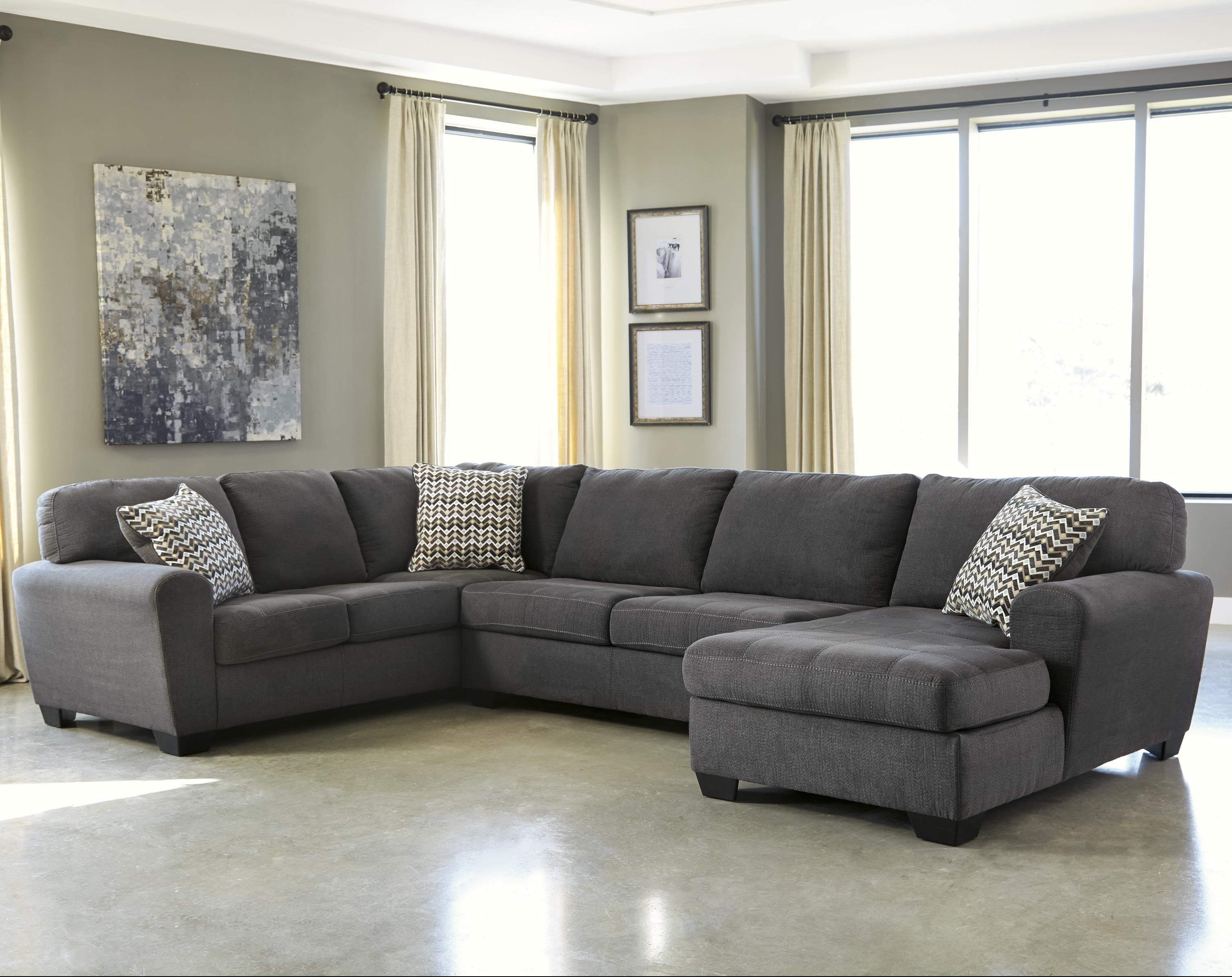 Best Sorenton 3 Piece Sectional With Chaise By Benchcraft 400 x 300