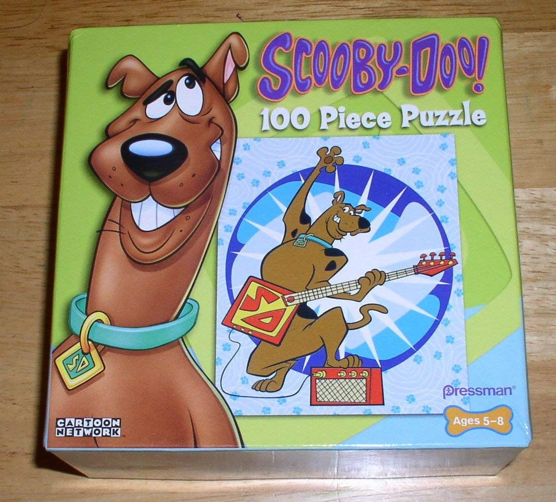 Amazon Scooby Doo 100 Piece Jigsaw Puzzle