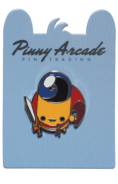 Enter The Gungeon Yellow Bullet Hero Pinny Arcade Collectible Trading Pin 1.25/""