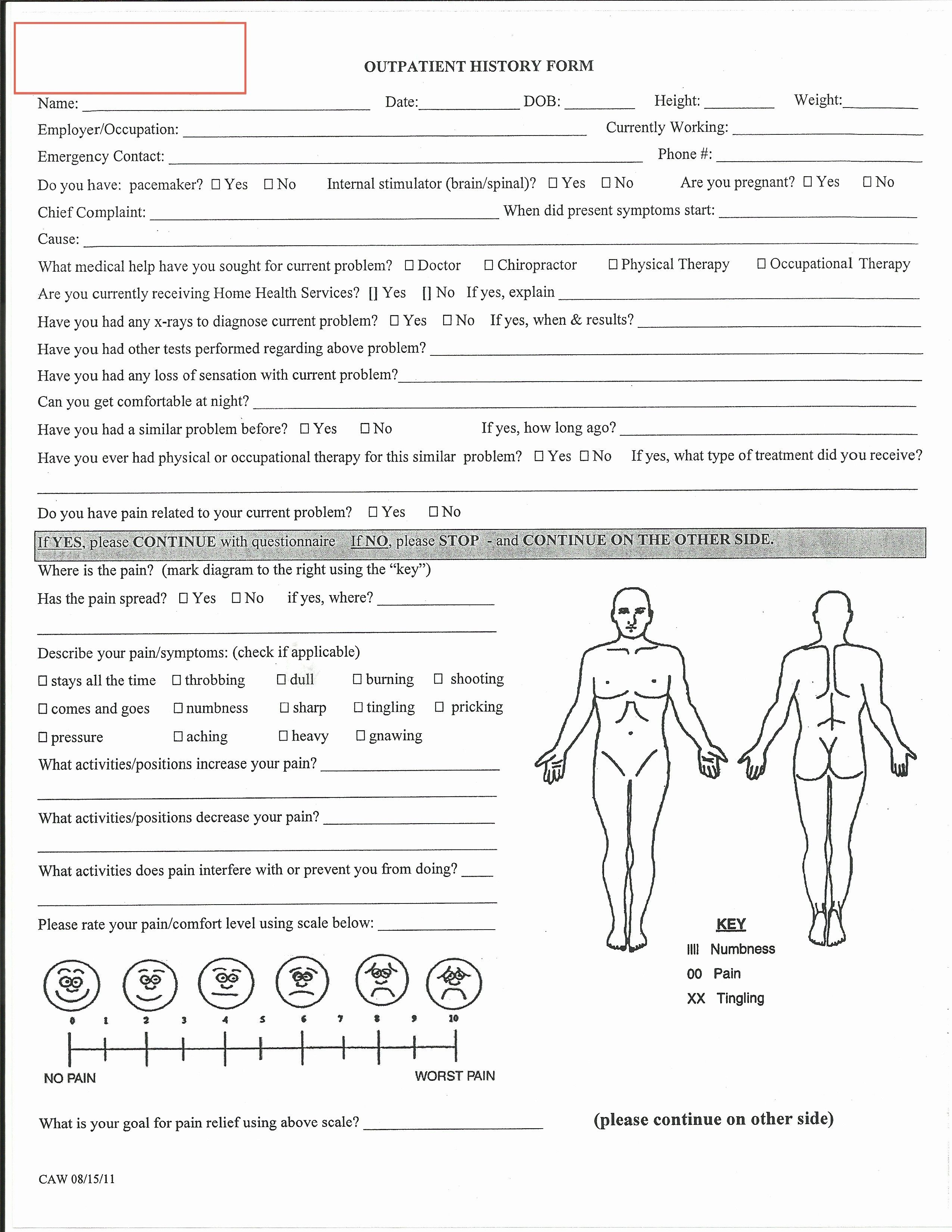 Physical Examination Form For Work Beautiful Evaluation Physical Therapy Evaluation Form Physical Physical Therapy Physical Therapy School Therapy Pediatric occupational therapy evaluation template