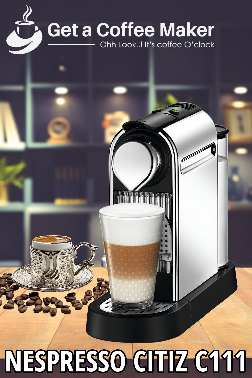 Nespresso Citiz C111 Espresso Maker (Oct. 2018 Cheap