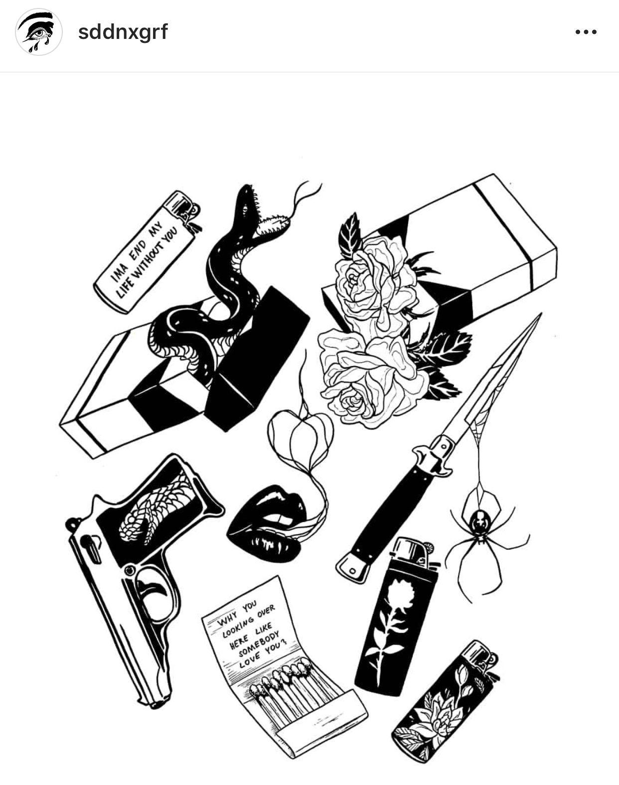 Pin De Hugo Braga Tattoo Em Preto Com Imagens Desenhos Simples