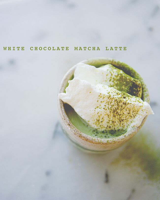White Chocolate Matcha Latte The Kitchy Kitchen Matcha Latte Matcha Recipe Tea Recipes