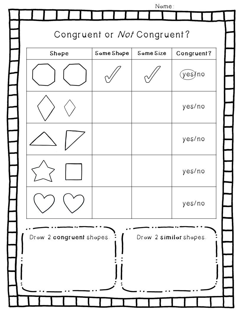 2-D Geometry Pack | Shapes worksheets, Worksheets and Math
