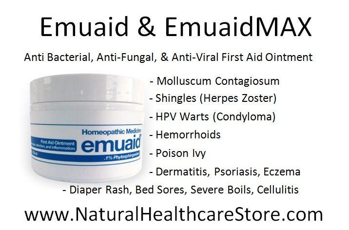 Emuaid & EmuaidMAX ~ Anti Bacterial, Anti-Fungal, & Anti-Viral First