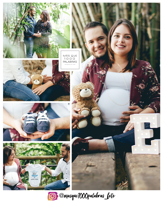 0f174b823 Esperando a Emilio. Sesión de fotografía de embarazo en el Jardín ...