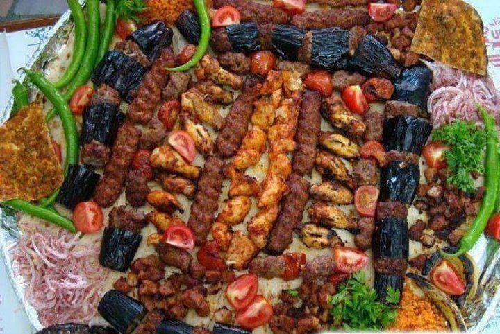 Turkish Kebab Platter The Best In The World Turkisches