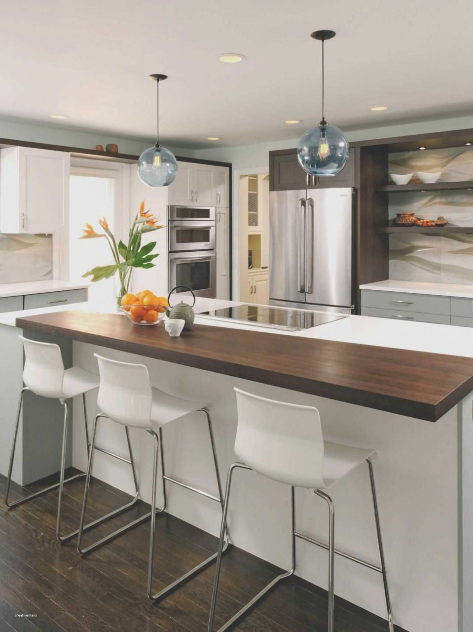 Kitchen Island With Table Extension In 2020 Small Kitchen Layouts Kitchen Design Small Kitchen Island With Bench Seating