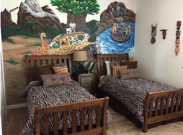 animal kingdom themed bedroom goofys golf getaway pinterest