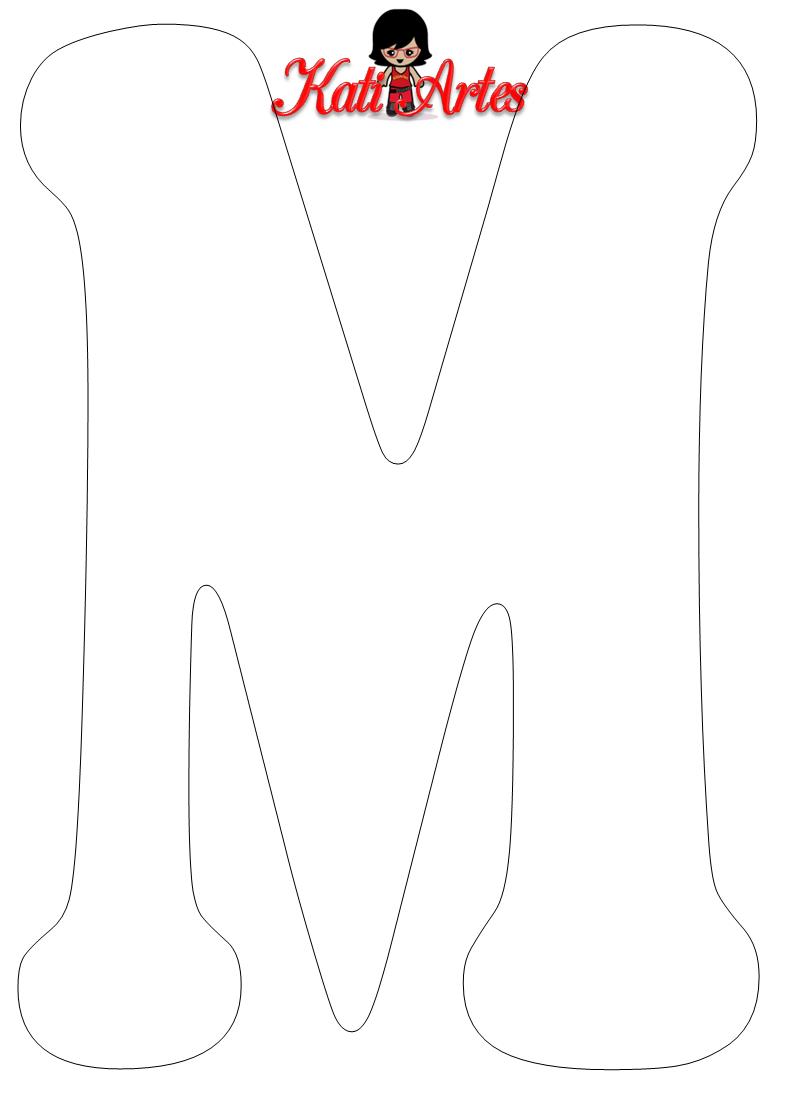 Pin de Маргарита en Буквы   Pinterest   Letras, Moldes de letras y ...