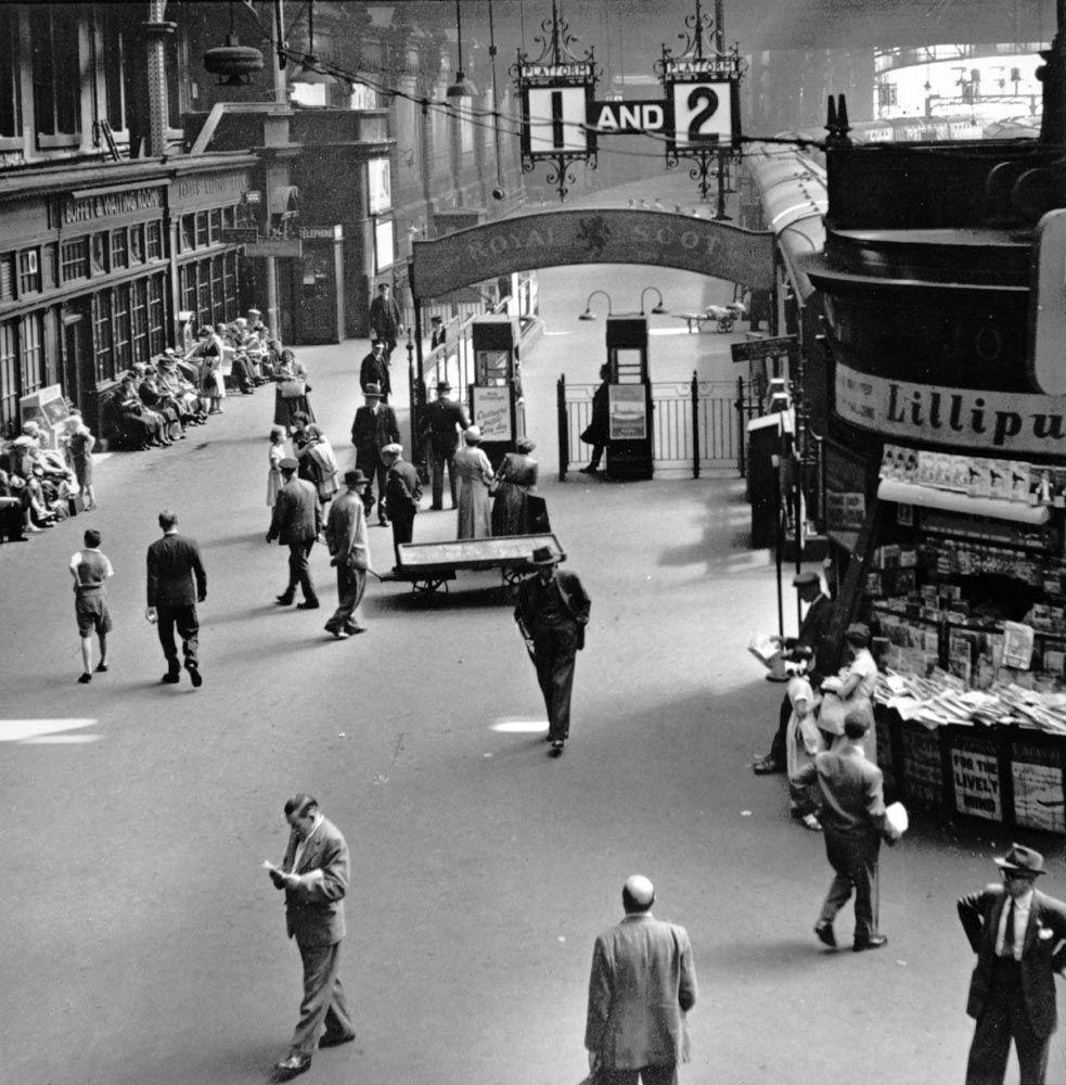glasgow central station 1955 in 1953 an average of. Black Bedroom Furniture Sets. Home Design Ideas