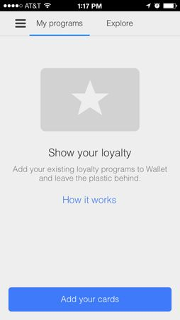 google wallet for ios update adds loyalty card scans and merchant notifications iphone. Black Bedroom Furniture Sets. Home Design Ideas