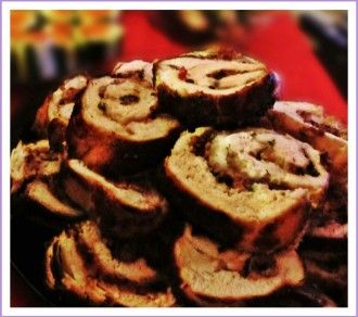 Simple Recipe Chicken Rolls Stuffed With Mushrooms, Bacon & Cheese
