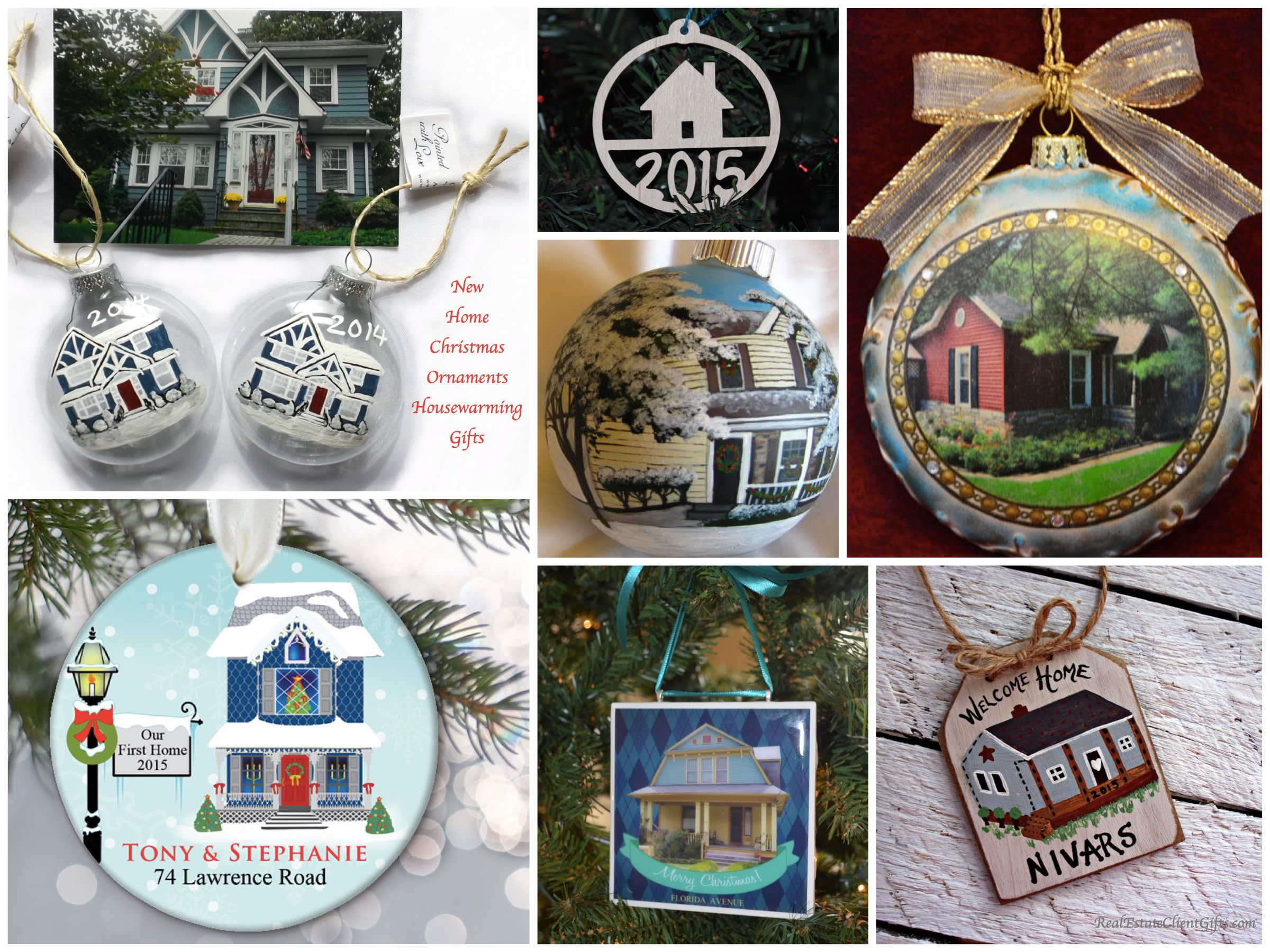 Home christmas ornaments - Realtor Holiday Gift Guide 10 Best Christmas Housewarming Presents New Home Christmas Ornaments Real Estate Closing Gifts Pinterest Home