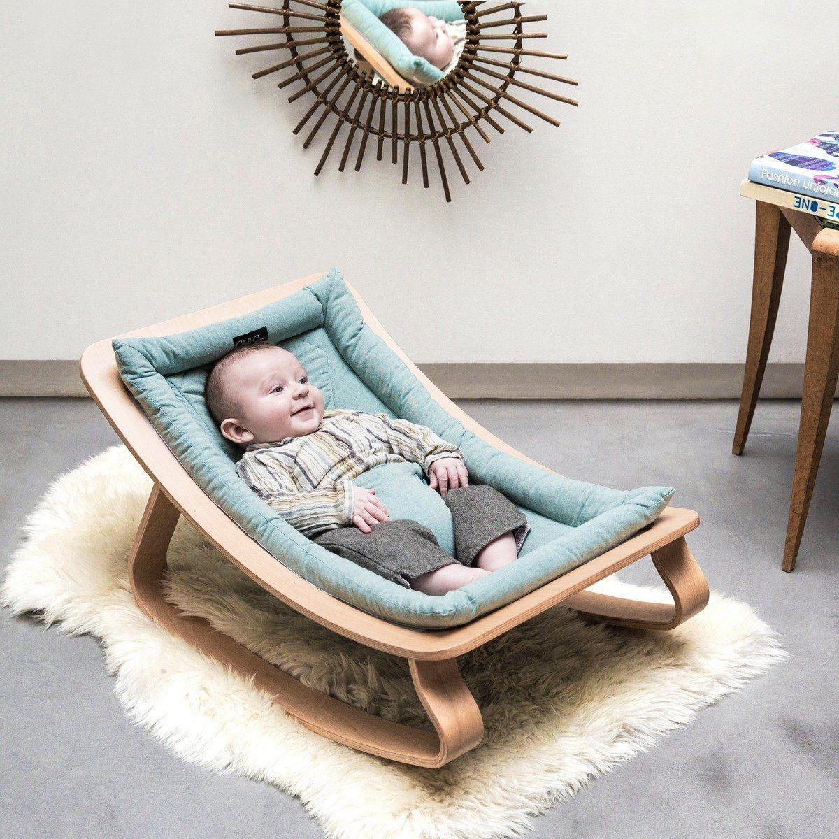 Charlie Crane Levo Aruba Blue Babywippe Aus Holz In Turkis Ab Geburt Babywippe Baby Wippe Und Wippe