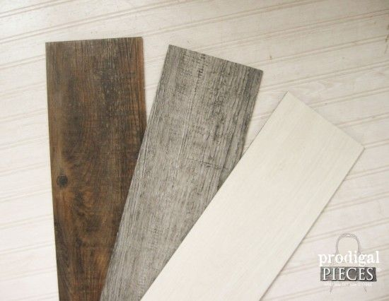 Create A Faux Barn Wood Wall Quilt Using Laminate Flooring With This