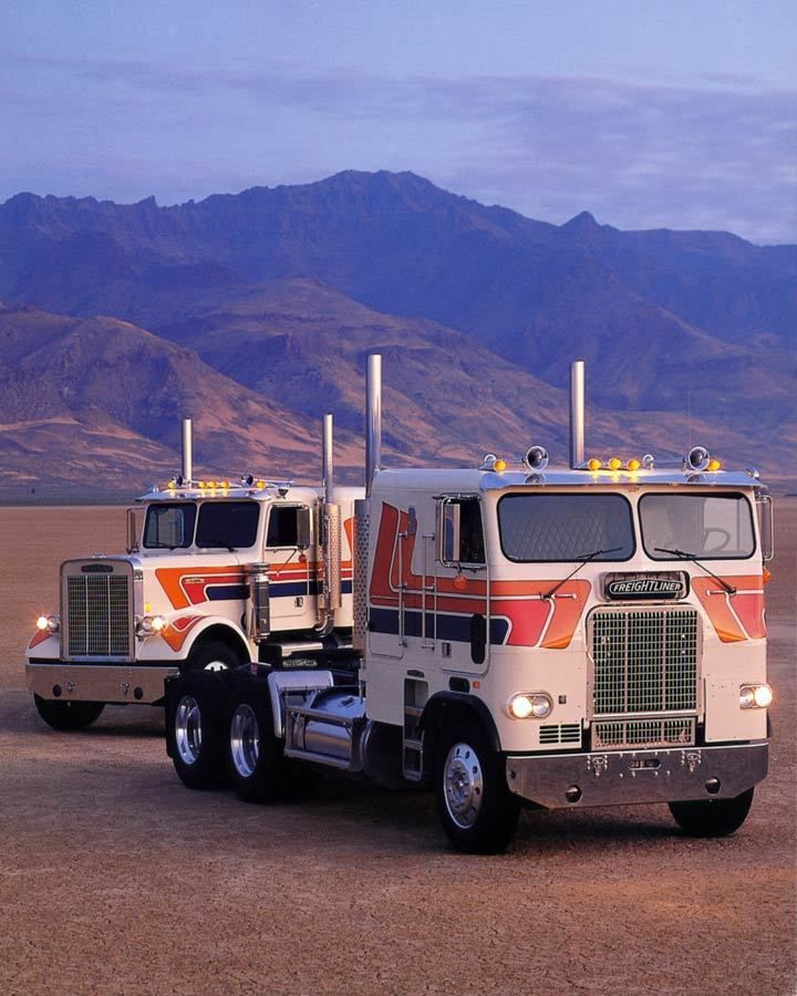 1982 freightliner mercedes benz truck photo poster zm2393 for Freightliner mercedes benz